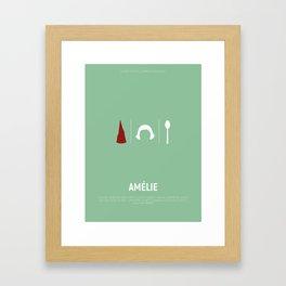 Amélie Poster Framed Art Print