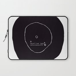 Now' s The Time Basquiat Laptop Sleeve