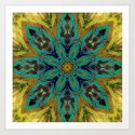 Feather Mandala by webgrrl