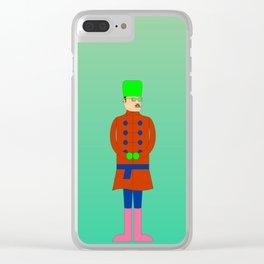 The Russian (IX) Clear iPhone Case