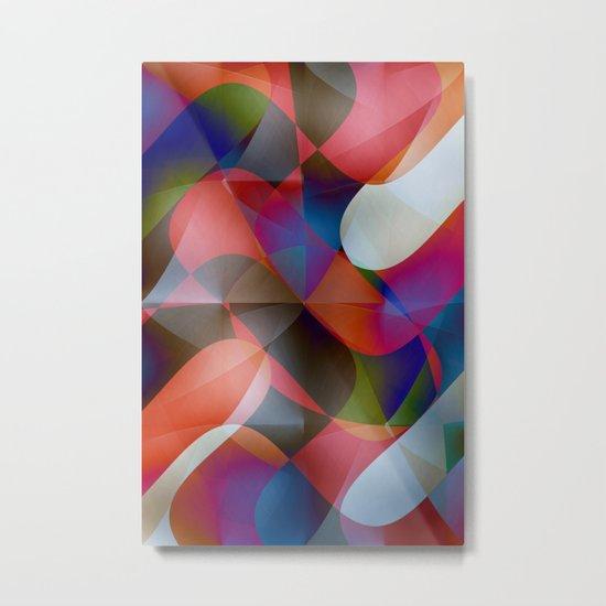 Pattern 2016 / 030  Metal Print