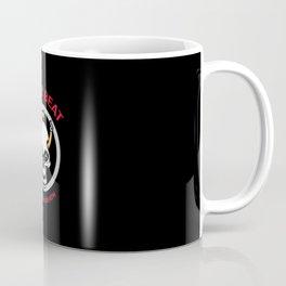 Crazy Beat Drums Or Death Coffee Mug