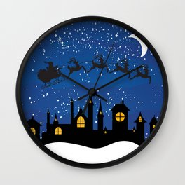 Twas The Night Before... Wall Clock