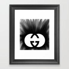 Spreading Style Framed Art Print