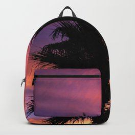 Palm Sunset - 7a Backpack