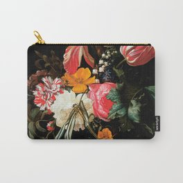 Flower Still Life - Maria van Oosterwyck (1669) Carry-All Pouch