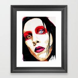 M. Manson Framed Art Print