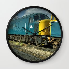 Mostly Peaks Wall Clock