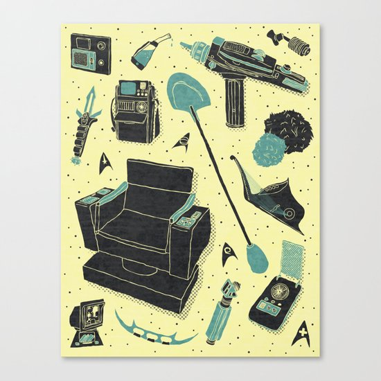 Artifacts: Star Trek Canvas Print