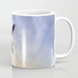 Boeing 747 Sunset  Coffee Mug