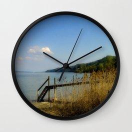 Lake of Constance Wall Clock
