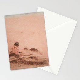 Things Buried In The Sand Stationery Cards