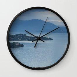 Majestic Lake Maggiore Wall Clock