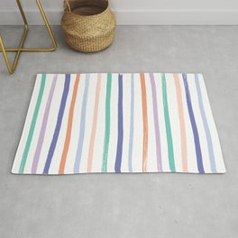 Fruit Stripes - Blueberry Rug