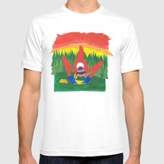 Nothing Like Camping... Mens Fitted Tee MEDIUM White
