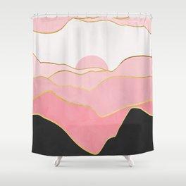 Minimal Landscape 02 Shower Curtain