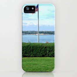 Banner of Freedom iPhone Case