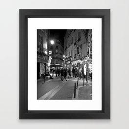 Latin Quarter, Paris Framed Art Print