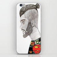 zayn malik iPhone & iPod Skins featuring Zayn Malik by LizzMartinez