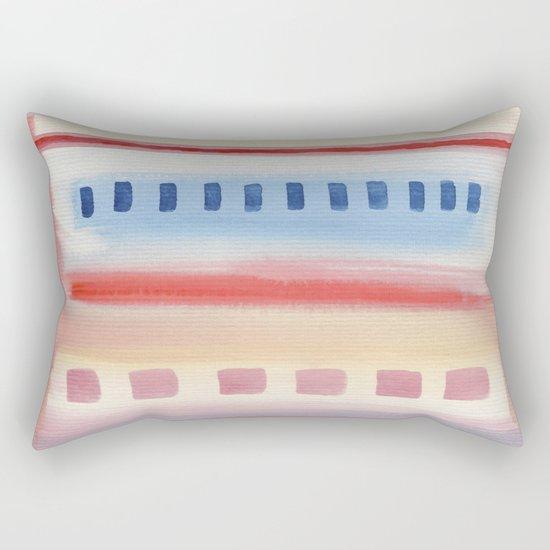 Watercolor Pastel V. G. 01 Rectangular Pillow