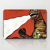 godzilla iPad Cases featuring Godzilla by HAZZAH!