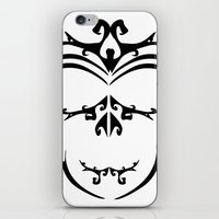 maori iPhone & iPod Skins featuring Maori skull by Soso Creation