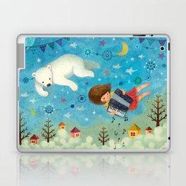 Travel the night sky Laptop & iPad Skin