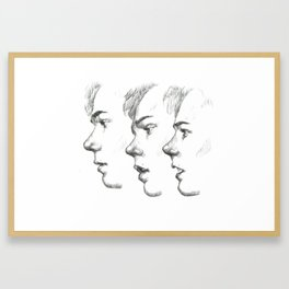 Isak | Drunk in Love Framed Art Print