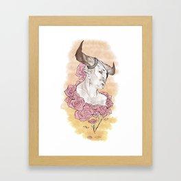 Companions - Iron Bull Framed Art Print