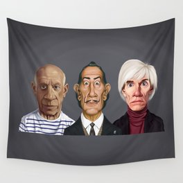 Great Artists Wall Tapestry