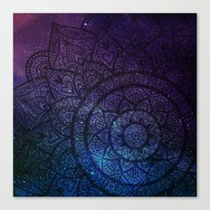 Space mandala 9 Canvas Print
