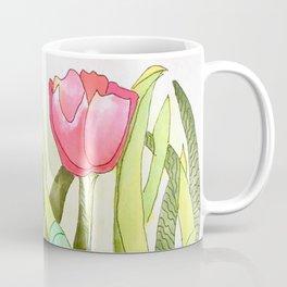 Dancing Tulips Coffee Mug