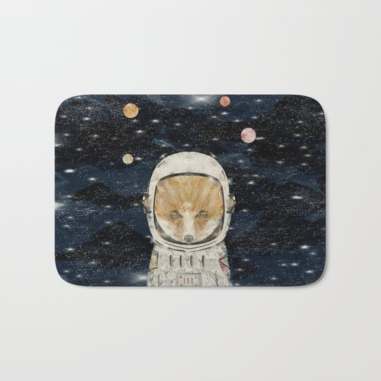 little space fox Bath Mat