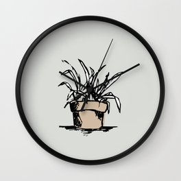 """""""Teacher's Plant"""" from Grow Collection Wall Clock"""