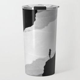 White Isolation Travel Mug