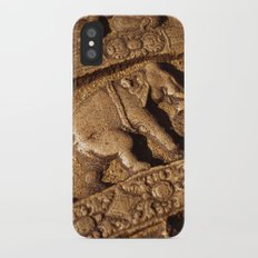 Stone Elephants iPhone X Slim Case