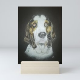 Derek the dog Mini Art Print