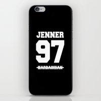 kardashian iPhone & iPod Skins featuring TEAM JENNER by HUDSON DESIGNS