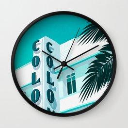 Colony Hotel Miami Beach Wall Clock
