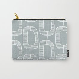 Mod Link Pattern, Azure Carry-All Pouch