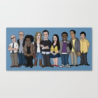 community Canvas Prints featuring Community by jasesa