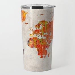 World Map 53 Travel Mug
