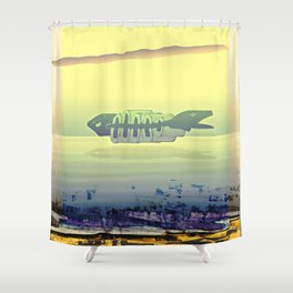 Oceanica 050419 Shower Curtain