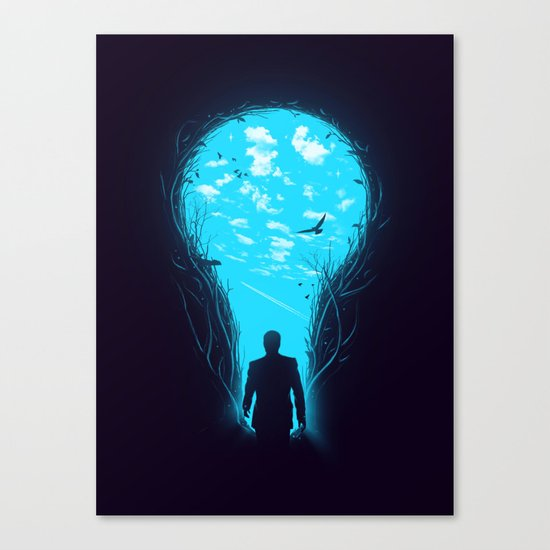 Bright Side Canvas Print