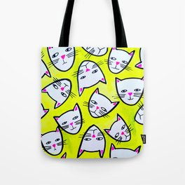 Cat Heads Tote Bag
