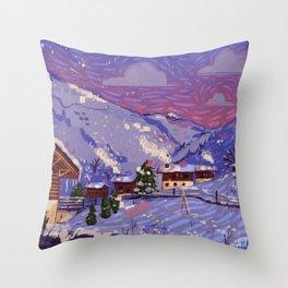 WinterHome Throw Pillow