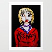 Remake 2013 Art Print