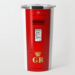 Traditional British  Georges Reign Postbox Travel Mug