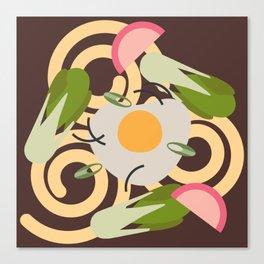 Udon Noodles  Canvas Print