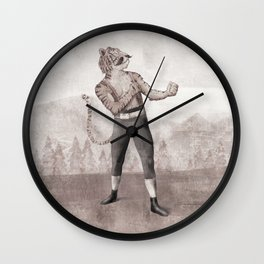 Champ Wall Clock